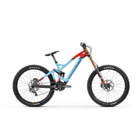 "Mondraker Summum Carbon Pro Team 27.5"" light blue/flame red/carbon"
